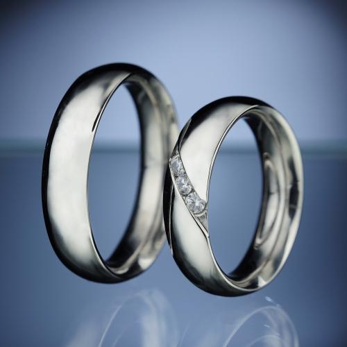 Platinum Wedding Rings model nr. SN4