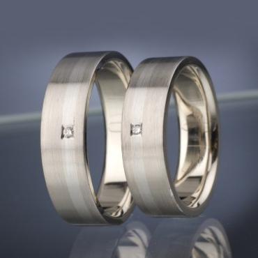 Wedding rings model nr. SN16