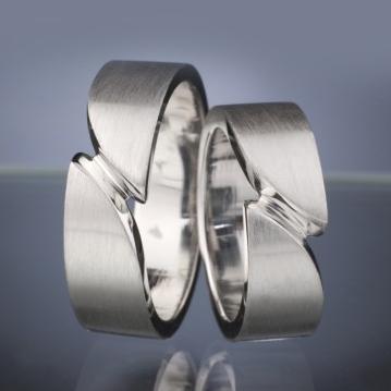 Platinum Wedding Rings model nr. SN31