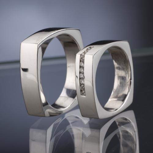 Platinum Wedding Rings model nr. SN37