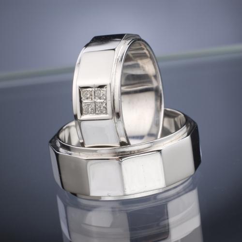 Platinum Wedding Rings model nr. SN40