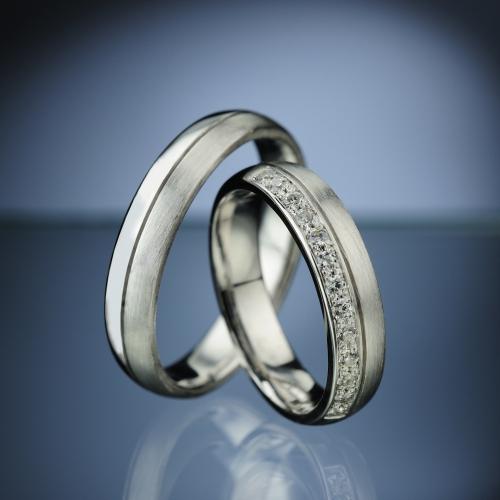 Platinum Wedding Rings model nr. SN75