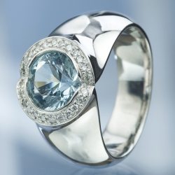 Ring Aquamarine