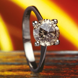 Ring - Diamond Cognac