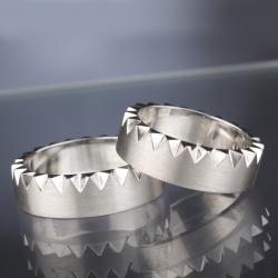 Platinum Wedding Rings model nr. SN35