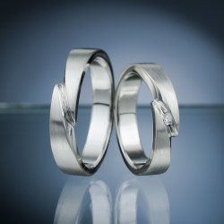 Platinum Wedding Rings model nr. SN61