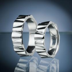 Platinum Wedding Rings model nr. SN65