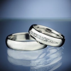 Platinum Wedding Rings model nr. SN71