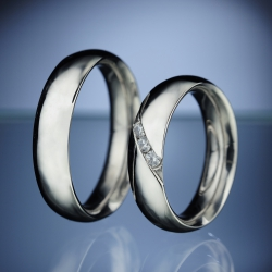 Wedding Rings with Diamonds model nr. SN4