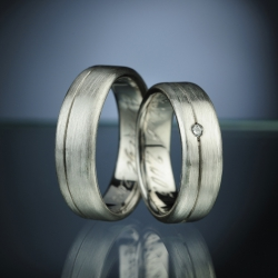 Wedding Rings with Diamond model nr. sn5