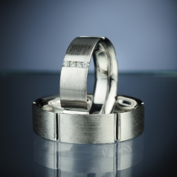 Wedding Rings with Diamonds model nr. SN6