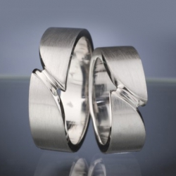 Wedding rings model nr. SN31