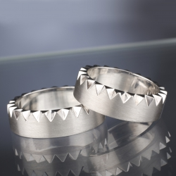 Wedding rings model nr. SN35
