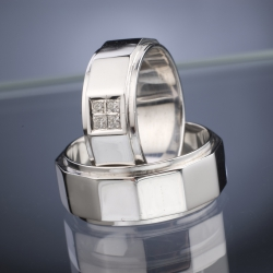Wedding Rings with Diamonds model nr. SN40