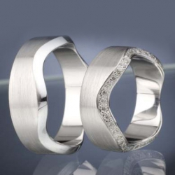 Wedding Rings with Diamonds model nr. SN42