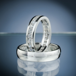 Wedding Rings with Diamonds model nr. SN64