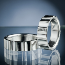 Wedding Rings with Diamonds model nr. SN66