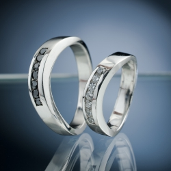 Wedding Rings with Diamond model nr. SN67