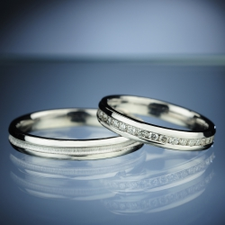 Wedding Rings with Diamonds model nr. SN70