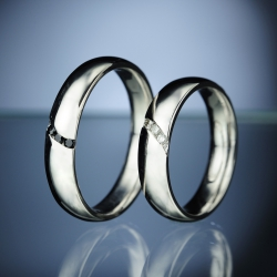 Wedding Rings with Diamonds model nr. SN81