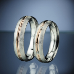 Wedding Rings with Diamonds model nr. SN13