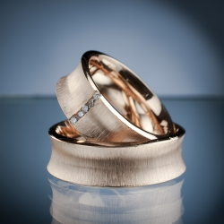 Wedding Rings with Diamonds model nr. sn43