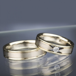 Wedding Rings with Diamond model nr. SN39