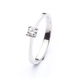 Platinum Engagement Ring with Diamond model nr. 0121