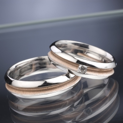 Wedding Rings with Diamond model nr. SN48