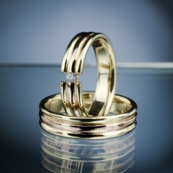 Wedding Rings with Diamond model nr. SN49