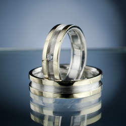 Wedding Rings with Diamond model nr. SN51