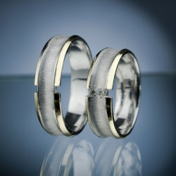 Wedding Rings with Diamonds model nr. SN52