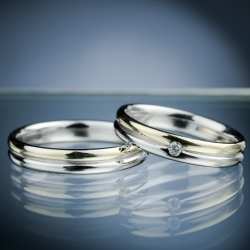 Wedding Rings with Diamond model nr. SN54