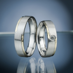 Wedding Rings with Diamond model nr. SN55