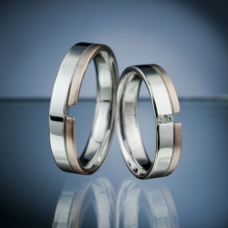 Wedding Rings with Diamonds model nr. SN57