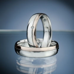 Wedding Rings with Diamond model nr. SN58