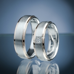 Wedding Rings with Diamond model nr. SN59
