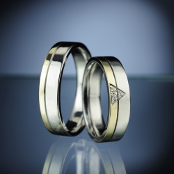 Wedding Rings with Diamonds model nr. SN76