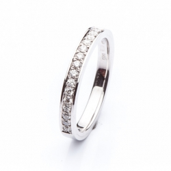 Platinum Ring with Diamonds model nr. 0130