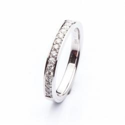 Platinum Ring with Diamonds model nr. 0130