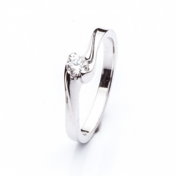 Platinum ring with Diamond model nr. 0131
