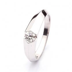 Platinum Ring with Diamond model nr. 0115