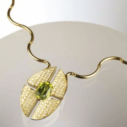 Necklace - Peridot
