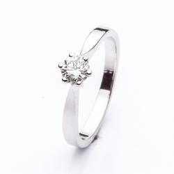Platinum Engagement Ring model nr. 0141