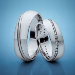 Wedding rings with diamonds model nr. SN25