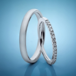 Wedding rings with diamonds model nr. SN89