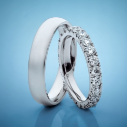 Wedding rings with diamonds model nr. SN90