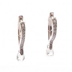 Earrings with diamonds model nr. 0062