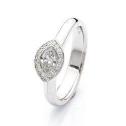 Ring with diamond model nr. 0173