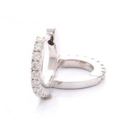 Earrings with diamonds model nr. 0075